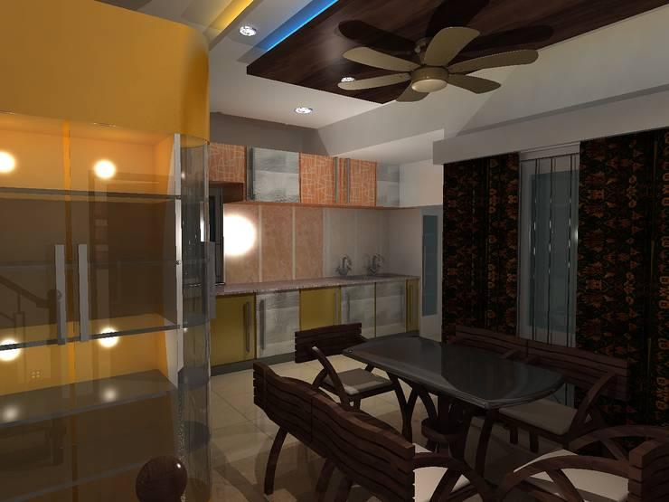 Dining room by Rapchik Designs