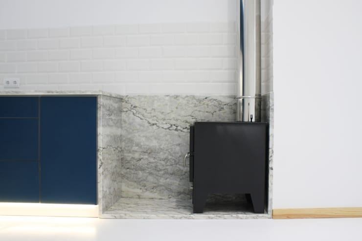 Kitchen units by GRAU.ZERO Arquitectura, Minimalist