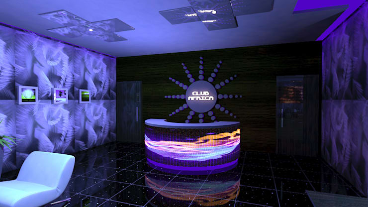 Club Africa:  Bars & clubs by Gurooji Designs