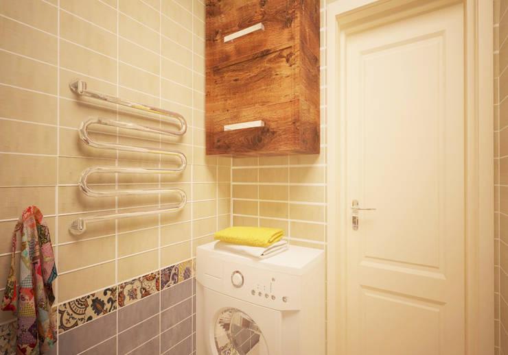 eclectic Bathroom by ARTWAY центр профессиональных дизайнеров и строителей