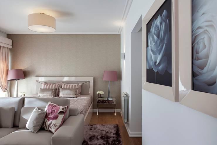 غرفة نوم تنفيذ Interdesign Interiores
