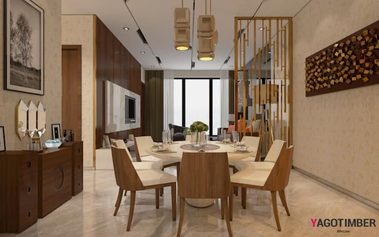 Dining Room Design Ideas:  Dining room by Yagotimber.com