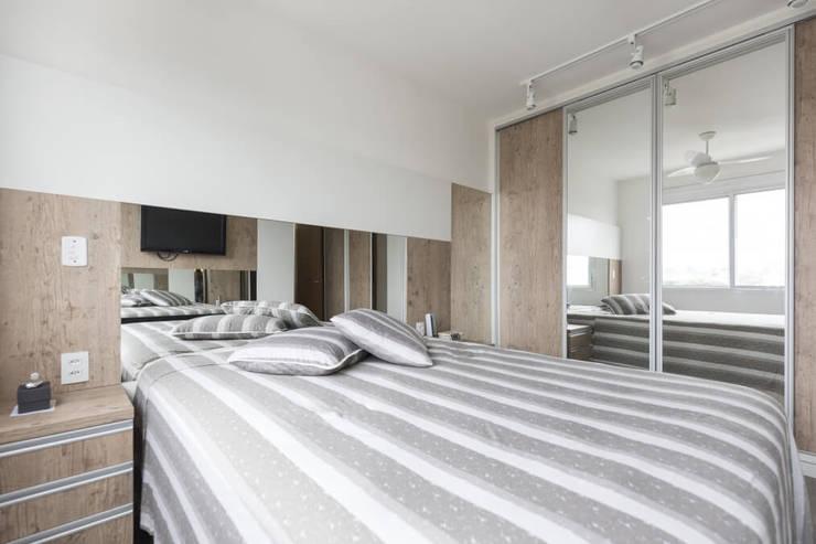 Apartamento GPF: Quarto  por 151 office Arquitetura LTDA