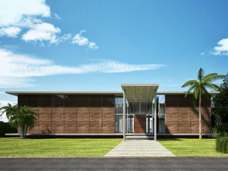 Key Biscayne :  Garden by Fernandez Architecture