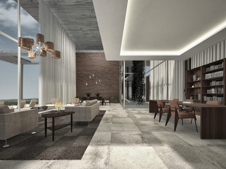 Key Biscayne :  Dining room by Fernandez Architecture
