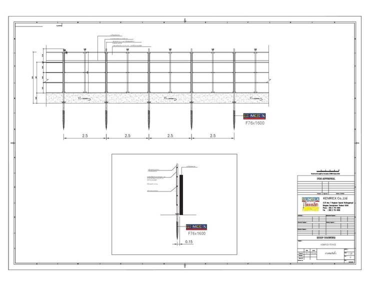 งานฐานรากรั้วโครงการ NEO OFFICE:   by บริษัทเข็มเหล็ก จำกัด