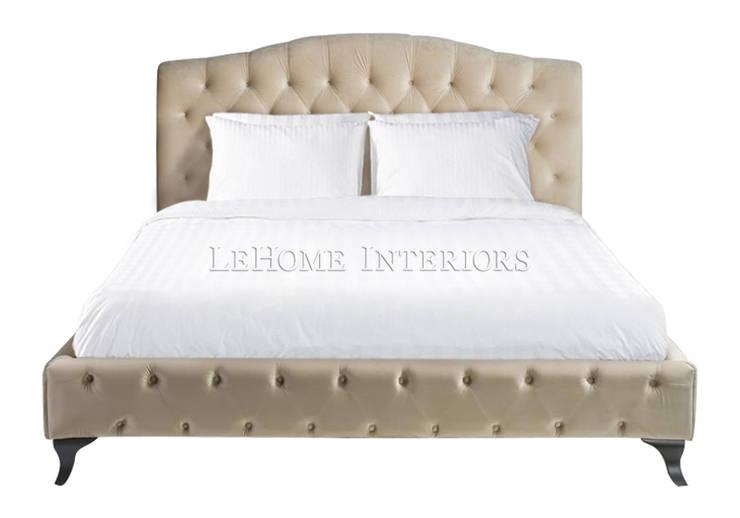 Кровать B011: Спальная комната  в . Автор – LeHome Interiors