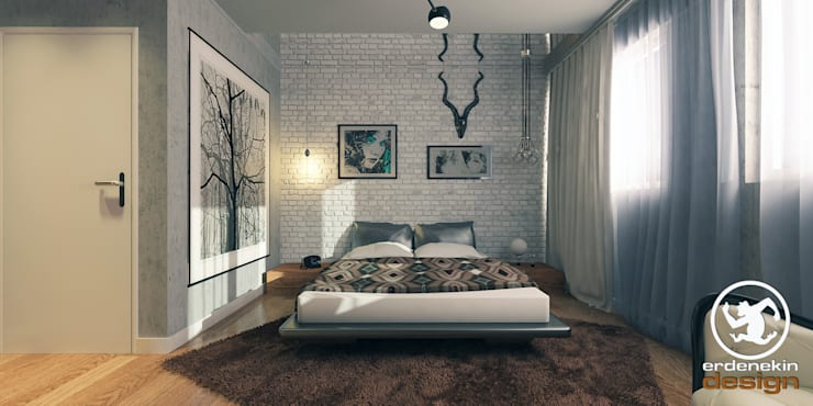 Bedroom by Erden Ekin Design