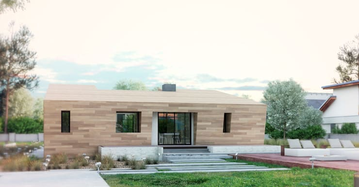 Casas de estilo  por Apriori Albero