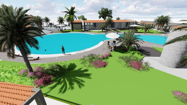 Pool by medina&asociados, Colonial