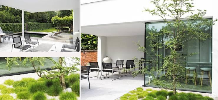 Project SV:  Terras door ARD Architecten, Modern