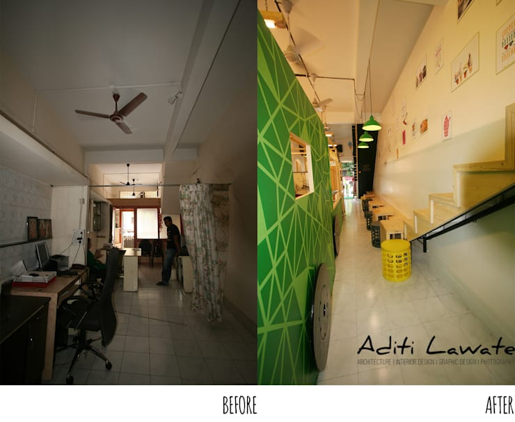 Cafe and Ice cram Parlour in Pune:  Gastronomy by Aditi Lawate