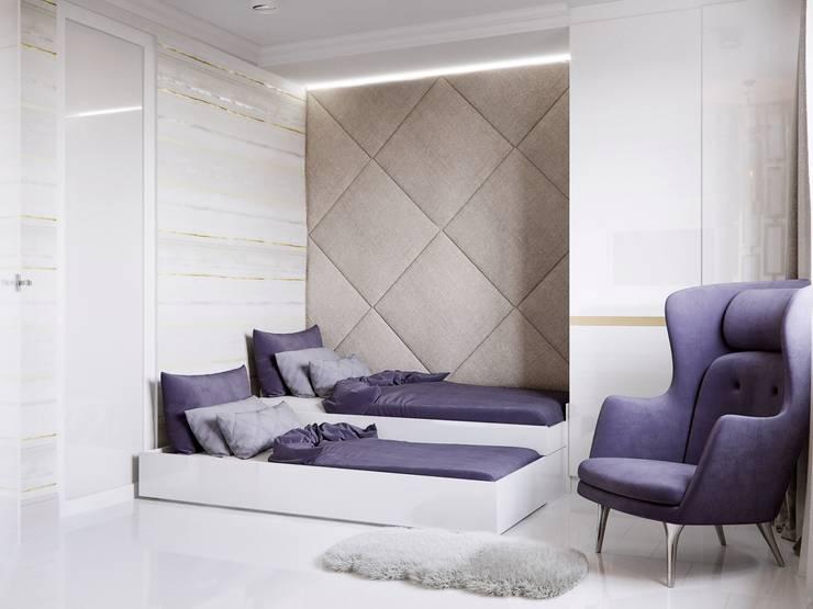 غرفة نوم تنفيذ Katerina Butenko