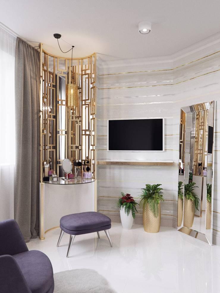 Гостевая комната: Спальни в . Автор – Katerina Butenko, Модерн