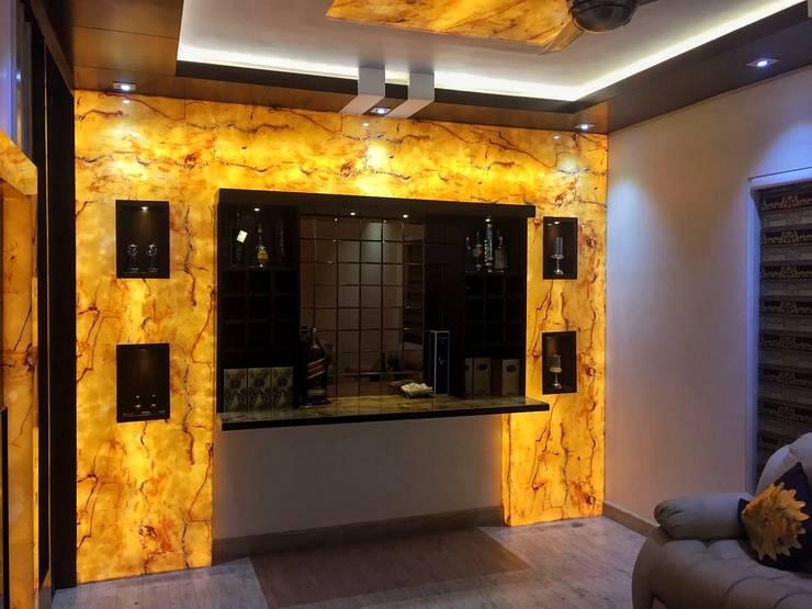 NIT-1 Faridabad:  Living room by Avant Garde Design