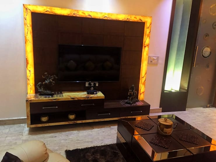 NIT-1 Faridabad: modern Media room by Avant Garde Design