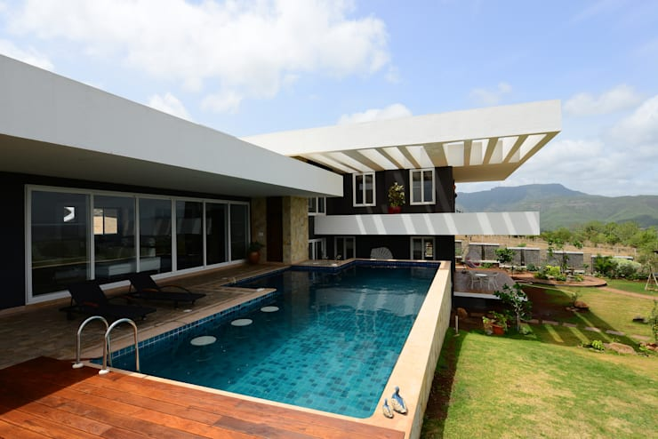 11 K-Waks: modern Houses by Studio K-7 Designs Pvt. Ltd