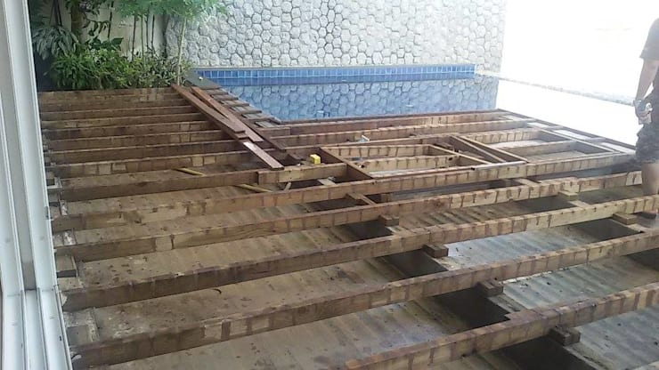 Pool Terrace ( Pine Wood):   by Phuket S.W. Construction Ltd., Part