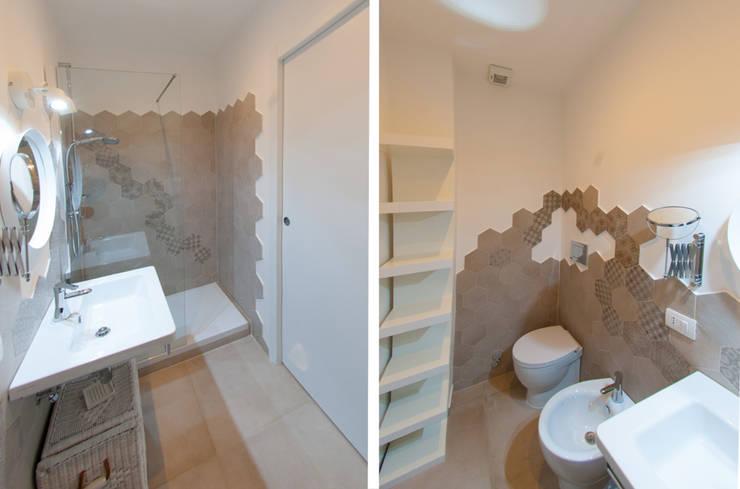 modern Bathroom by NOS Design