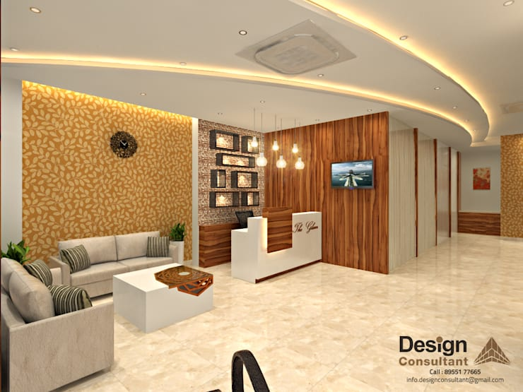 Salon Interior Design and Decoration at Nirman Nagar, Jaipur by ...