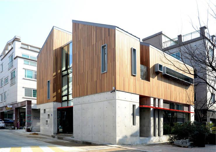 중정주택: 경피리 건축발전소의