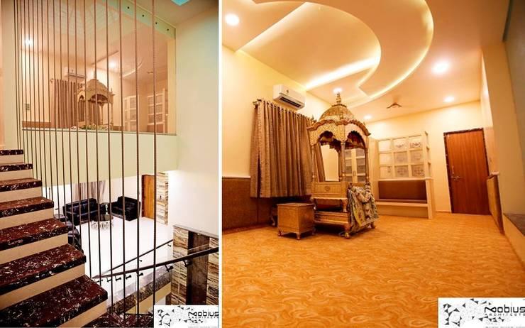 Puja Mandeer / Gurudwara:  Walls by Mobius Architects