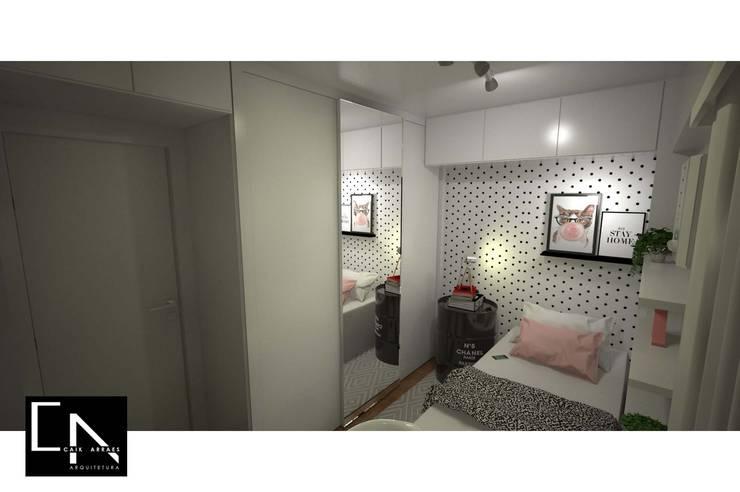 Vista para o armário: Quartos  por CAIK ARRAES Arquitetura