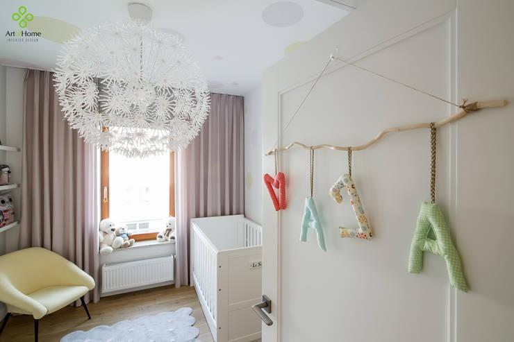 Nursery/kid's room by Art of home, Scandinavian