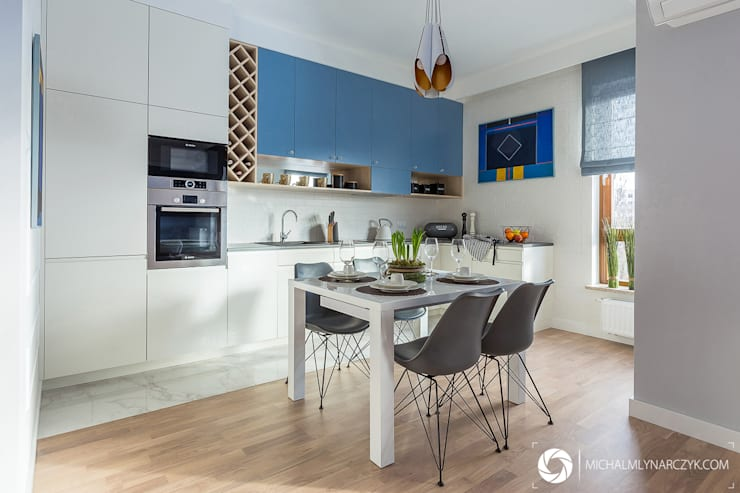 Dapur oleh Michał Młynarczyk Fotograf Wnętrz, Modern