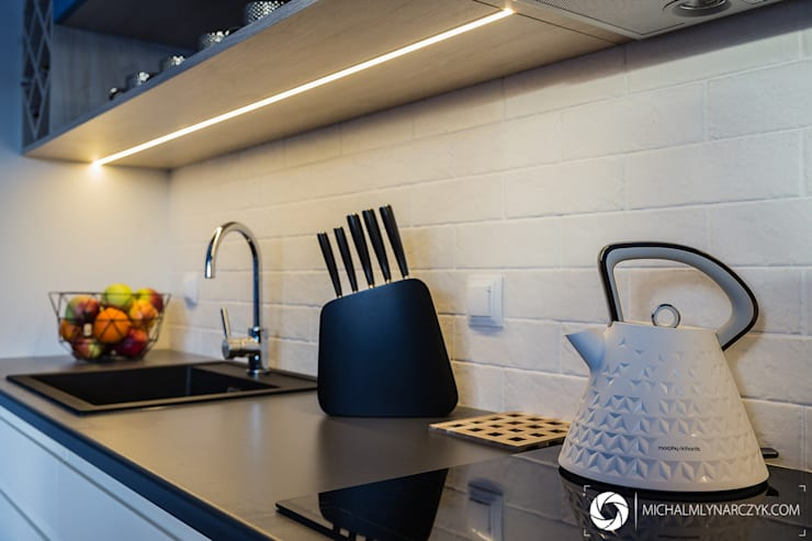 Kitchen by Michał Młynarczyk Fotograf Wnętrz, Modern
