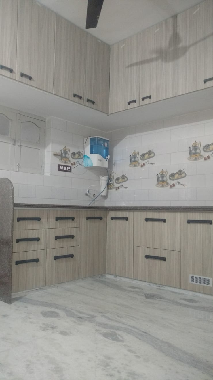 modern Kitchen by aashita modular kitchen