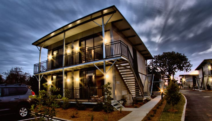 Chinchilla Modular Apartment Accommodations:  Hotels by Prefabmarket.com