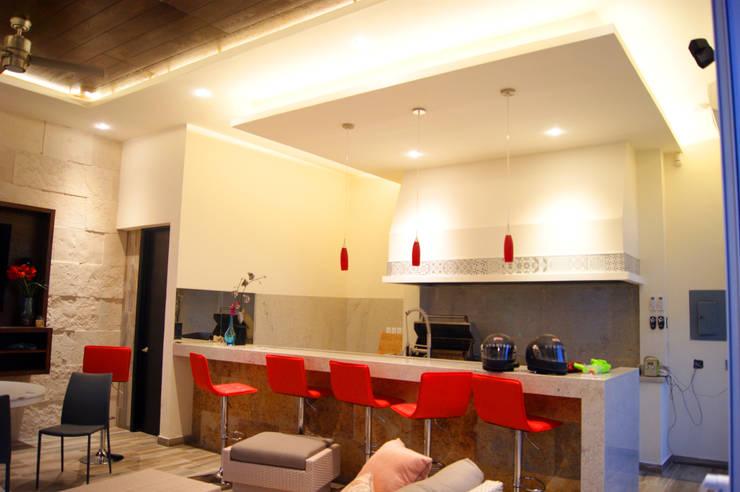 Ampliación Residencia BG: Terrazas de estilo  por Arstudio