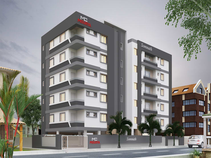Houses by Mourya Constructions,