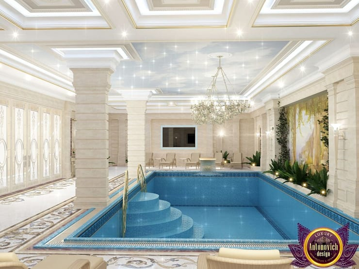 منتجع تنفيذ Luxury Antonovich Design
