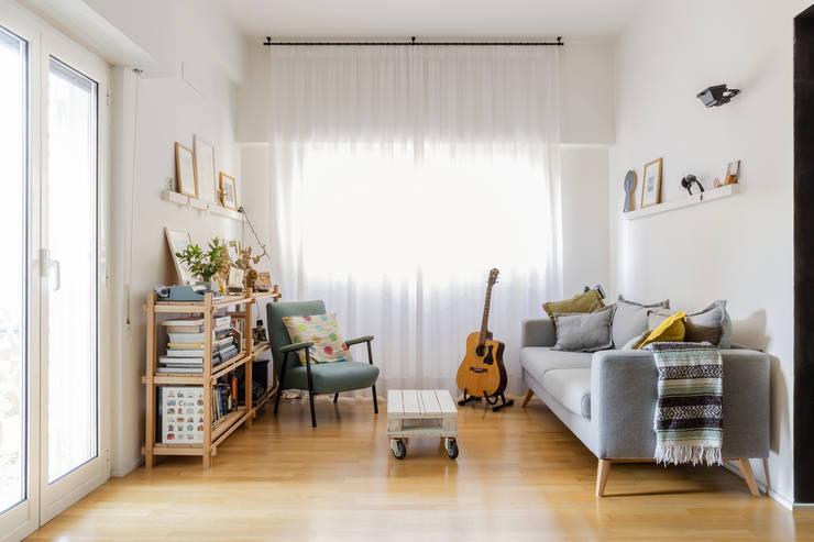 غرفة المعيشة تنفيذ Angelo Talia