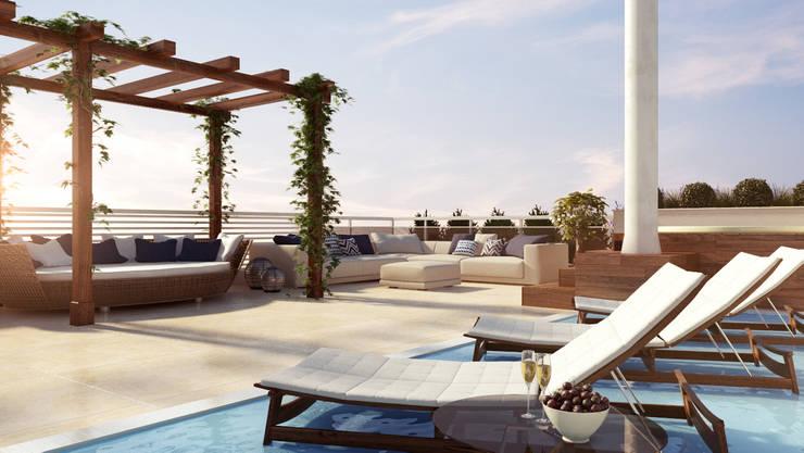 Projetos de Arquitetura: Terraços  por Dazen | Creativity Connected