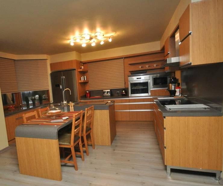 minimalistic Kitchen by rwiçmimari
