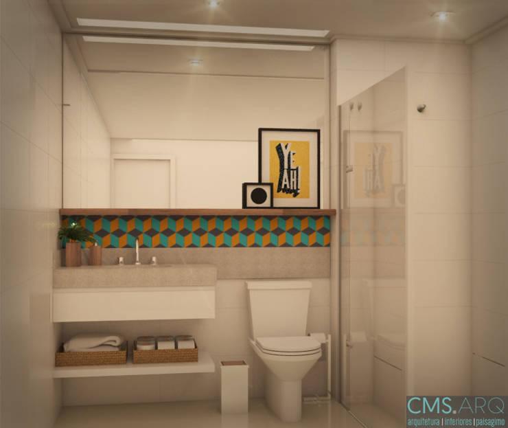 Banheiro | FC: Banheiros  por CMS.ARQ - Camila Machado Salmória