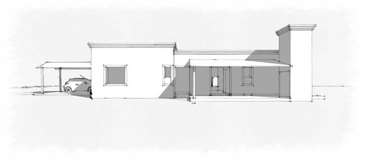 Casa Paradiso: Casas de estilo  por Lucila Bertazza,