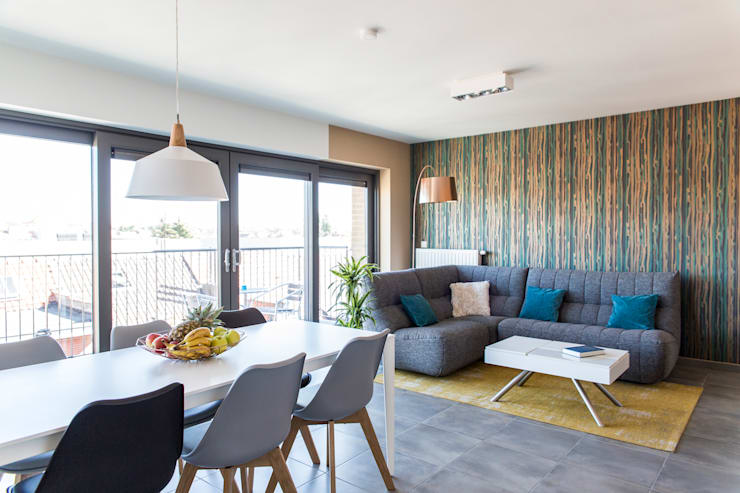 scandinavian Living room by Sensionest