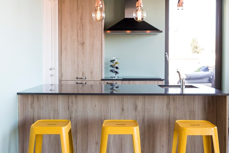 Projekty,  Kuchnia zaprojektowane przez Sensionest
