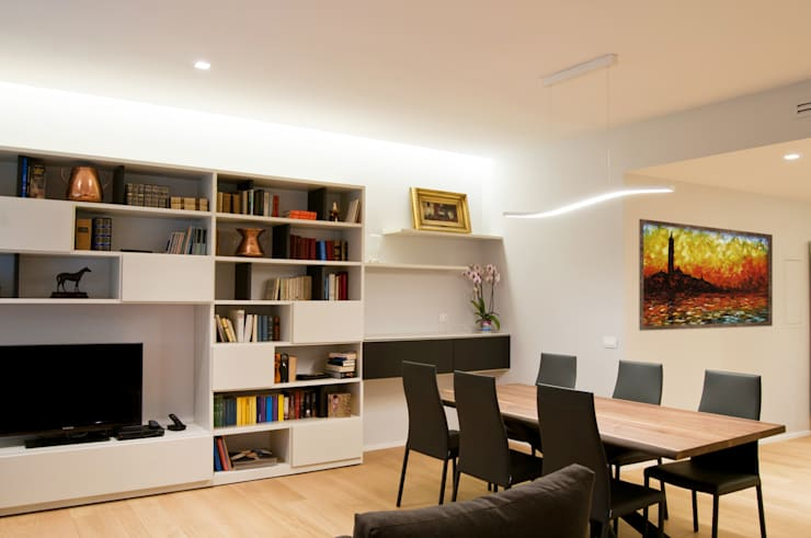 Living room by 07am architetti