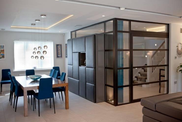 Projekty,  Salon zaprojektowane przez XUL Architecture