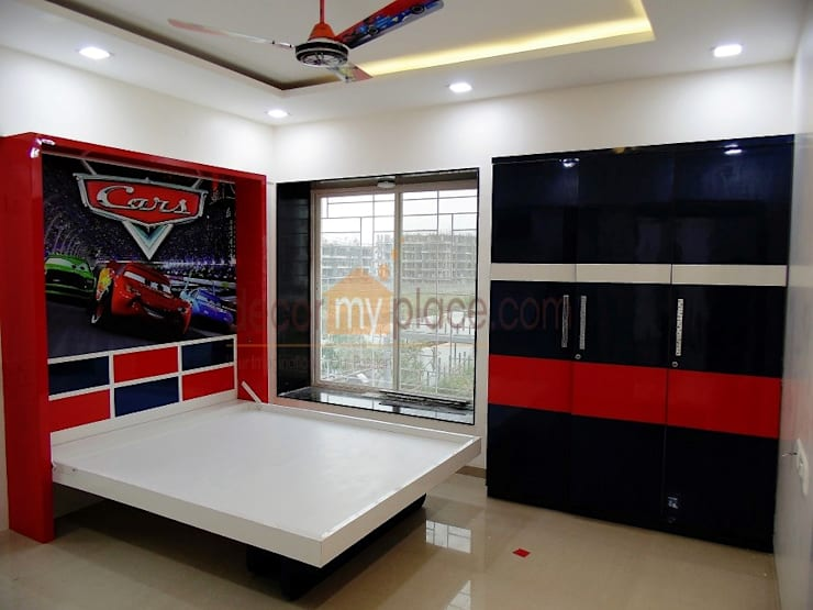 KOLTE PATIL 24 K PUNE :  Kitchen by decormyplace