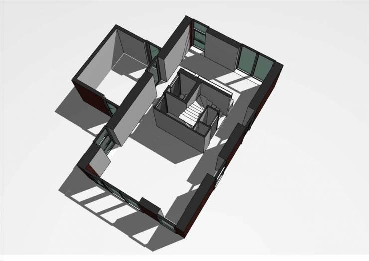 Woning Datcha 1:  Huizen door Wessel van Geffen Architecten , Modern