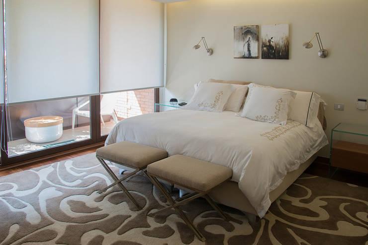 dormitorio principal: Dormitorios de estilo ecléctico por Thomas Löwenstein arquitecto