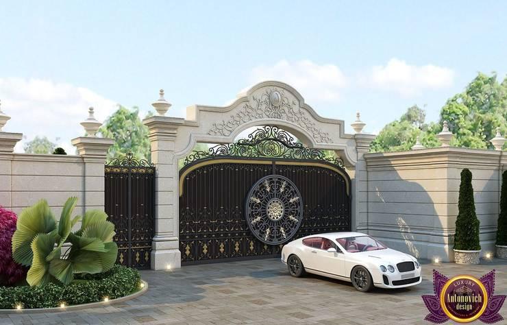 Royal villas design of Katrina Antonovich:  Houses by Luxury Antonovich Design