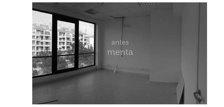 Antes: Escritórios  por menta, creative architecture