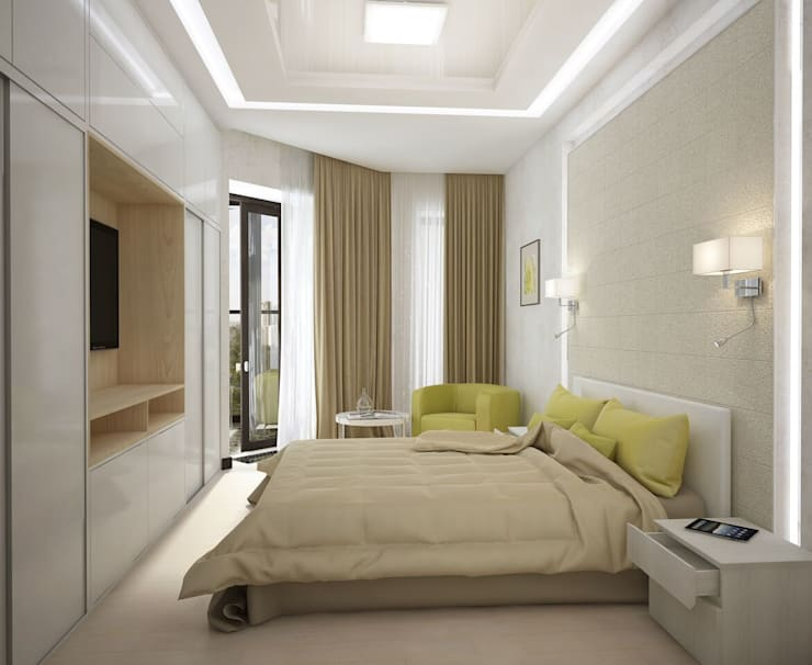 غرفة نوم تنفيذ Вира-АртСтрой